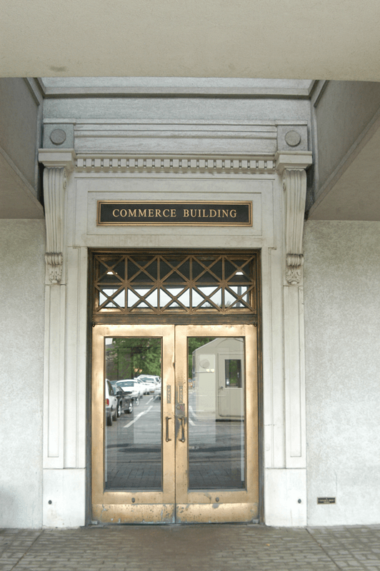 Commerce-Building-Main-Entrance